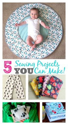 5 Simple Sewing Projects gluesticksblog