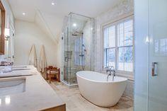 Address: 220 Pinehurst Drive Neighbourhood: Eastlake, Oakville Agent: Kim Saxton and Ruth Anne Winter, Sotheby's International Realty Canada House Design, House, Pinehurst, New Homes, Show Home, Interior Design, Renovations, Bathroom Design, Home Lottery