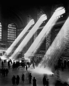 Grand Central Station, New York, 1941.
