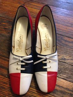 Vintage naturalizer 60s shoes size 8.5 by insomniacslullabies, $55.00