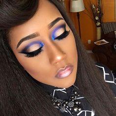 "Love it @brietheamazon ・・・ Eyeshadow: @juviasplace Masquerade palette ""Chi"" and Saharan palette ""chad"", beauty treats modern matte eyeshadow tan. #makeuphaul #makeuplife #makeupartistry #bookme #amazon #amazonsbeautyroom #makeupartistsworldwide #bookme #brietheamazon #amazonsbeautyroom #atlanta #atlantaartist #faceartist #canvas #atl #muaforatl #worldmakeupartists #lippie #purplerainforever #beauty #melanin #melaninonfleek #eyeliner #celebritymua #newclients #motd #fotd #transformer"