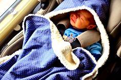 Baby Transportverpackung für die Babyschale