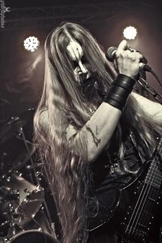 Darkened Nocturn Slaughtercult is a German black metal band - Photo by Photophobia