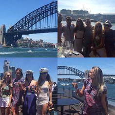Sydney harbour bridge glorious. #sydneylife #sydneysider #harbour #harbourbridge #sydneyharbourbridge #beautiful #summer #cruise #sydney #love #entouragehc #entrepreneursharbour cruise #champagne #mummchampagne #zimmerman #blonde by britkate http://ift.tt/1NRMbNv