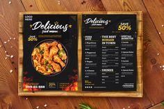 Delicious food menu food menu template menu template food | Etsy Italian Food Menu, Mexican Food Menu, Italian Recipes, Mexican Food Recipes, Recipe Book Templates, Food Menu Template, Food Truck Menu, Seafood Menu, Restaurant Menu Design
