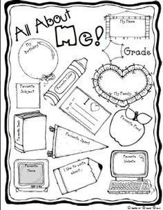 All About Me - My Body Activity | Worksheets, Activities and Students