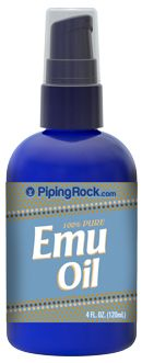 Emu Oil (100% Pure and Natural) 4 oz (118 mL) Spray Bottle