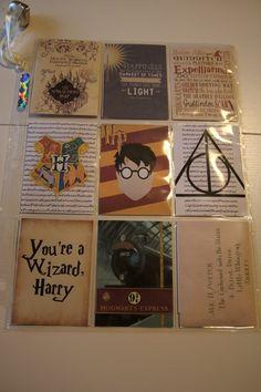 Pocket letter Harry Potter, devant. Madewithloveblog