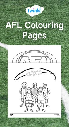 These AFL Colouring Pages feature a selection of different images all related to the Australian Football League. display, Ideal as part of a display & for fun. Colouring Sheets, Colouring Pages, Football Crafts Kids, September Holidays, Australian Football League, Crows, Fine Motor Skills, Craft Activities, Parents