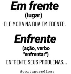 Portuguese Grammar, Portuguese Lessons, Portuguese Language, Study Site, Study Help, Learn Brazilian Portuguese, Chinese Lessons, Exams Tips, Writer Tips