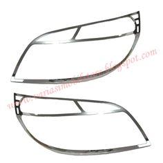 Garnish Depan / Cover Headlamp ini khusus untuk mobil Rush / Terios. Info Pemesanan Hubungi Budi Susanto 087722739300.
