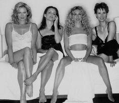 Kim Cattrall, Kristin Davis, Sarah Jessica Parker & Cynthia Nixon.
