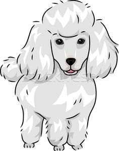 brown poodle - clipart # | animal cards | Pinterest | Poodles, Fun ...