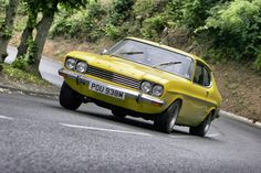 Mk 1, Ford Capri, Car Ford, British, Cars, Vehicles, Sports, Cutaway, Car