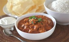 This slow cooker Indian butter chicken will slowly bubble away until you have a party size serve to have with basmati rice and naan bread. Find more on Kidspot, New Zealand& recipe finder. Best Slow Cooker, Slow Cooker Recipes, Crockpot Recipes, Chicken Recipes, Recipe Chicken, Family Meals, Kids Meals, Toddler Meals, Cooking Curry