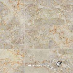 Textures Texture seamless | Botticino marble tile texture seamless 19793 | Textures - ARCHITECTURE - TILES INTERIOR - Marble tiles - Cream | Sketchuptexture