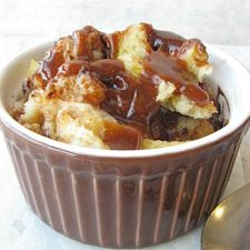 Microwave Bread Pudding....Just made this and it is soooo good. Would be great with blueberries and or carmel sauce too!