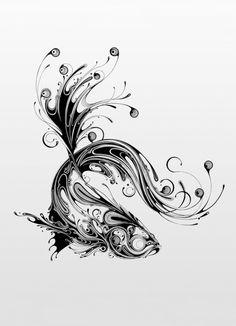 アートは無限大。1本のペンで生み出せるその可能性は計り知れません。 英国のアーティストSi Scottさんが描く「Resonate」と名付けられた作品たちは、黒いインクで英国のワイルドアニマルをアナトミカルに表現した、なんだか爆発的なエネルギーに満ちたようなイラストレーションです。 マーブル模様のようなその滑らかな曲線...