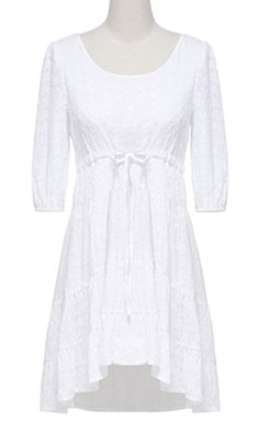 Embroidery cotton dress S1322017