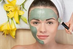Leaves of cabbage are best known to combat against loose #skin and wrinkles.  Olive oil or almond oil moisturizes the skin well. This combination cabbage leaves and rice flour is also a great natural tightening skin remedy
