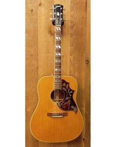 The 1968 Gibson Hummingbird. A beautiful guitar with a wonderful tone.