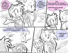 SONAMY — drawloverlala: Sonic Boom: The Stranger i...