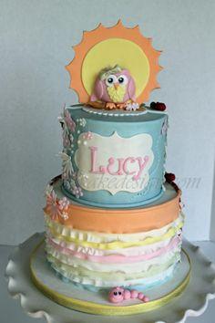 Shannon Bond Cake Designs Art Theme Art Rainbow Party