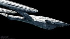 Star Trek Destiny Starship the U.S.S. Aventine