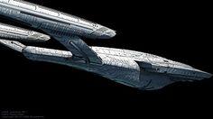 Star Trek Destiny Starship the U.S.S. Aventine