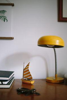 DESPACHO ANDREA AMORETTI Desk Lamp, Table Lamp, Home Decor, Waterproof Boots, Furniture, Home, Table Lamps, Decoration Home, Room Decor