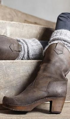 Love boots with leg warmers