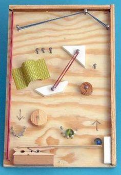Gummiband-Flipper - Erst bauen, dann spielen!