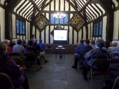 Speaking at Selly Manor Museum during Birmingham Heritage Week...