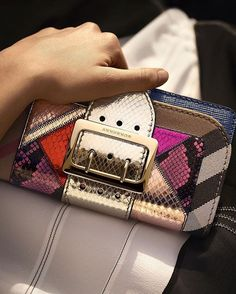 A hand-picked selection of The Patchwork bag from #Burberry, exclusively for the special Ramadan collection.  With no two styles the same, each bag is designed with a unique mix of opulent colour, fabric and embellishment, all individually named after a British town, village or street.