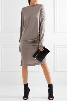 Vivienne Westwood Anglomania | Draped jersey dress | NET-A-PORTER.COM