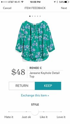 Dear Stitch Fix Styler, another great example of a professional top to wear to grad school