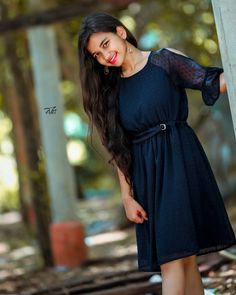 Ladies Frock Design, New Girl Photo, Old Wooden Doors, Girl Poses, Frocks, Asian Beauty, Cold Shoulder Dress, Lady, Instagram Posts