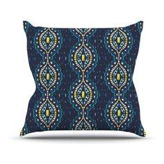 Kess InHouse Suzie Tremel Ogee Lace Indoor / Outdoor Throw Pillow - ST2012AOP05