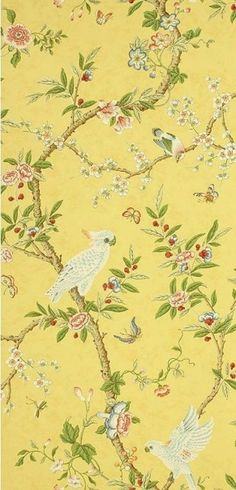 A Week's Worth of Wallpaper Ideas | Chinoiserie - laurel home