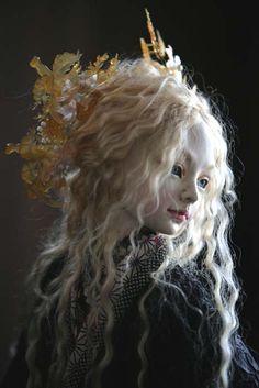 you're a doll. Clay Dolls, Bjd Dolls, Doll Toys, Stuffed Animals, Enchanted Doll, Paperclay, Creepy Dolls, Little Doll, Fairy Art