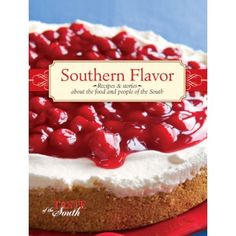 Brought to you by Taste of the South, Southern Flavor includes recipes and stories about the Food and the People of the South. Hardcover. Spiral-bound.