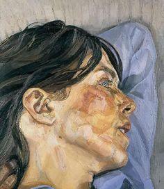 Lucian Freud Woman in Profile