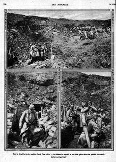WWI, Battle of Verdun 1916, Fort de Douaumont.
