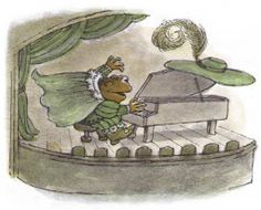 Frog and Toad by Arnold Lobel My Spirit Animal, My Animal, Arnold Lobel, Children's Book Illustration, Book Illustrations, Frog Art, Frog And Toad, Art Hoe, Goblin