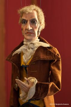 Alessandro Manzoni's marionette  http://puppet-master.com - THE VENTRILOQUIST ASSISTANT