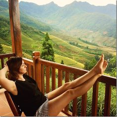 The incredible setting of Topas Ecolodge close to SaPa in Vietnam.  More on wanderluststorytellers.com.au