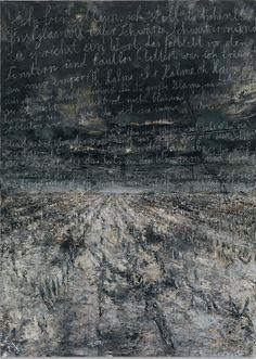 """The Unborn (Die Ungeborenen),"" Anselm Kiefer. Anselm Kiefer, Contemporary Artists, Modern Art, Abstract Landscape, Abstract Art, Musée Rodin, Neo Expressionism, Willem De Kooning, A Level Art"
