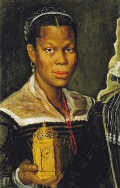 Annibale Caracci, « Portrait of an Enslaved Woman » Italy (c. 1580s)