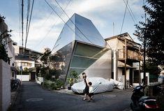 De ruimte van verandering: in kaart brengen van de eigenaardigheid van Japanse huizen   Behang*