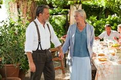 Franco Nero and Vanessa Redgrave came together again in had a private commitment ceremony in place of a legal marriage, and made the sweet movie Letters to Juliet, also about a couple finding one another again. Vanessa Redgrave, New Movies, Good Movies, Movies And Tv Shows, Hollywood, Best Movie Couples, Juliet Movie, Letters To Juliet, John Johnson